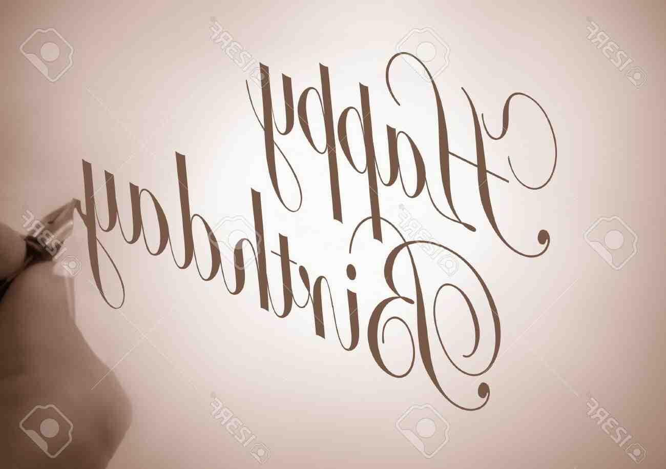 Comment écrire joyeux anniversaire