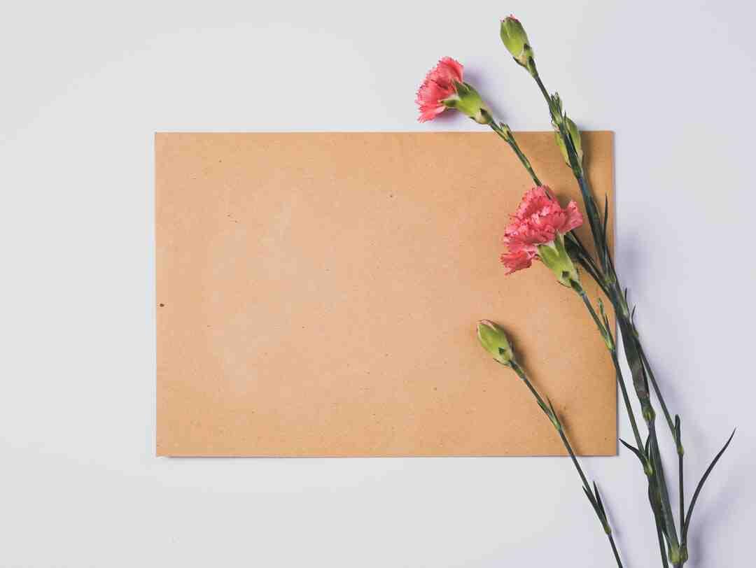 Comment ecrire une lettre