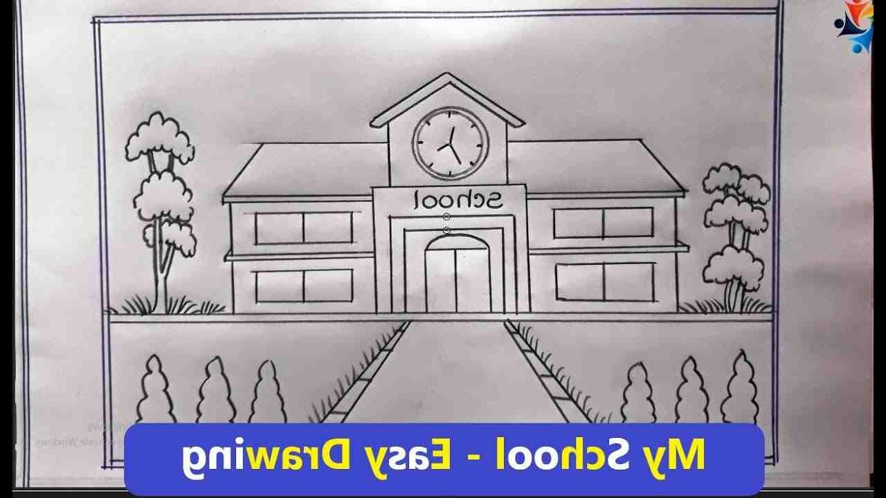 Comment dessiner une école
